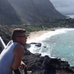Looking out to the PACIFIC OCEAN while in Hawaii!!!