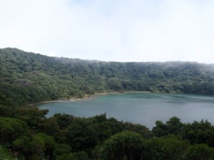 Lake Botos is an inactive crater also located within the Poás Volcano National Park.