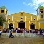 Sunday morning at Iglesia Santa Ana in Moyogalpa on Isla de Ometepe.