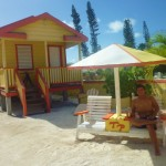 This is the hotel we stayed at named Tropical Paradise in Caye Caulker, Belize. It was cheap, amazing and my home for 6 days. I loved spending my days doing nothing enjoying the breeze and being a beach bum!