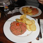Steak Tartar in Paris!