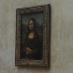 "This is the best shot I could get of the famous ""Mona Lisa"". I love that her eyes follow you no matter where you are in the room."