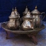 Teapots of Morocco in photos.