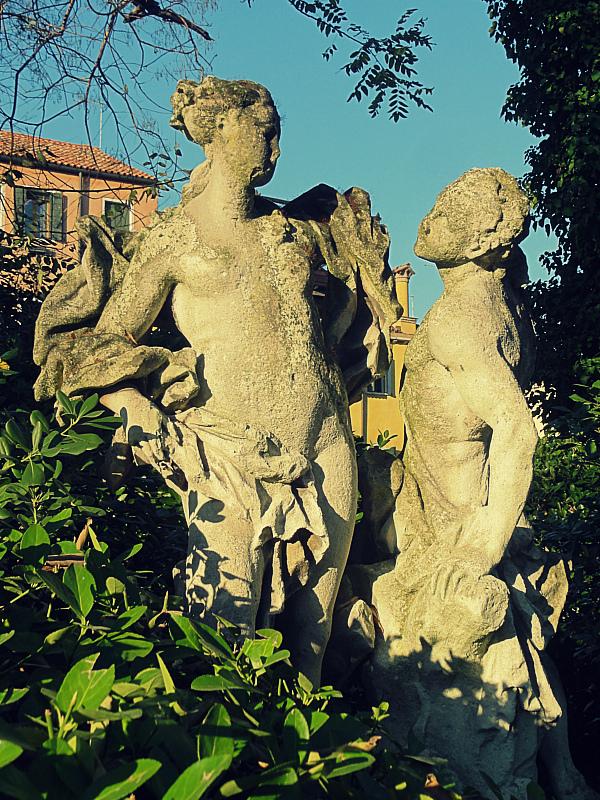 Statues in Venice!