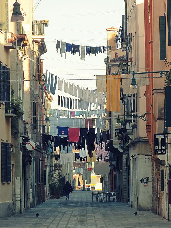 Laundry in Venice, Italy!
