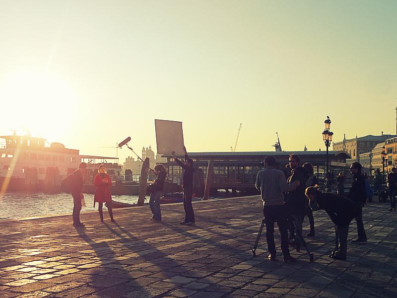 Movie set in Venice