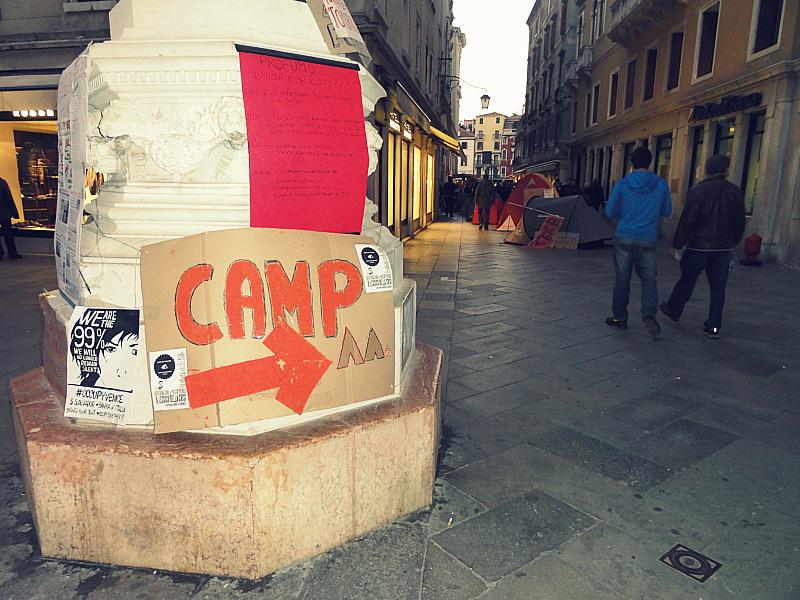 Occupy Venice.