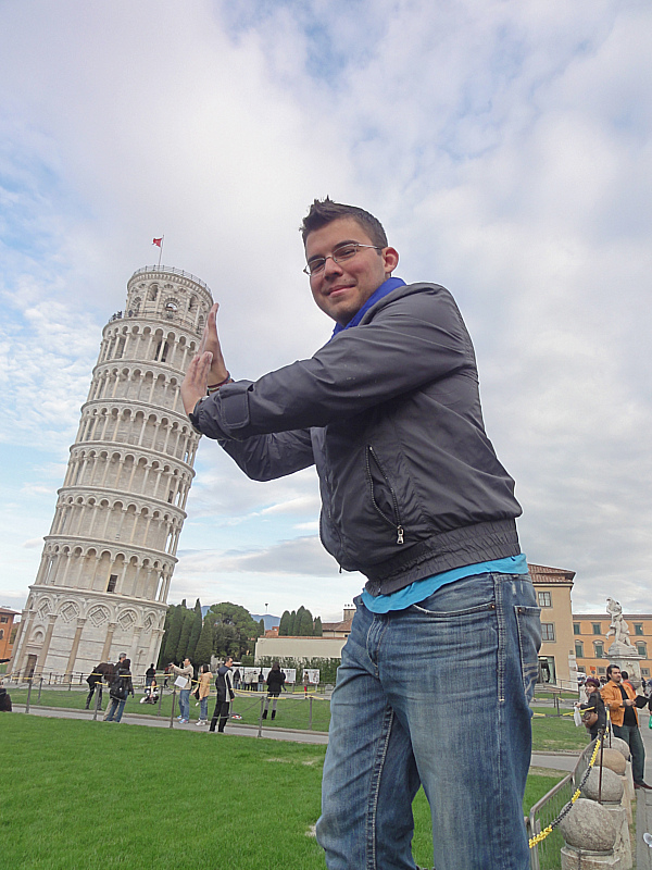 Leaning Tower of Pisa!