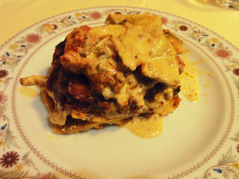 Italian Lasagna.