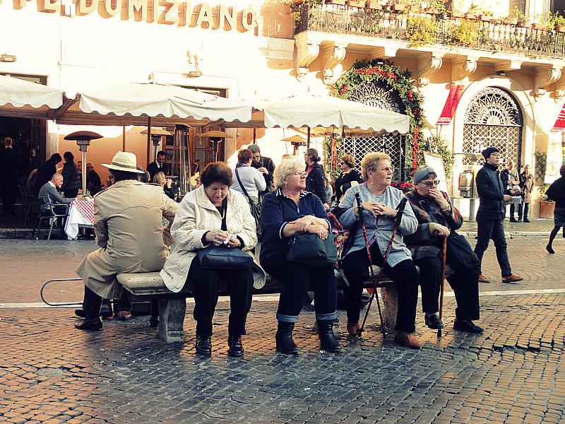 Tourist in Rome!