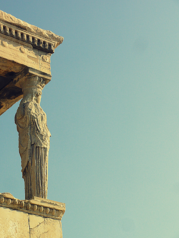 Ruins in Athens, Greece!