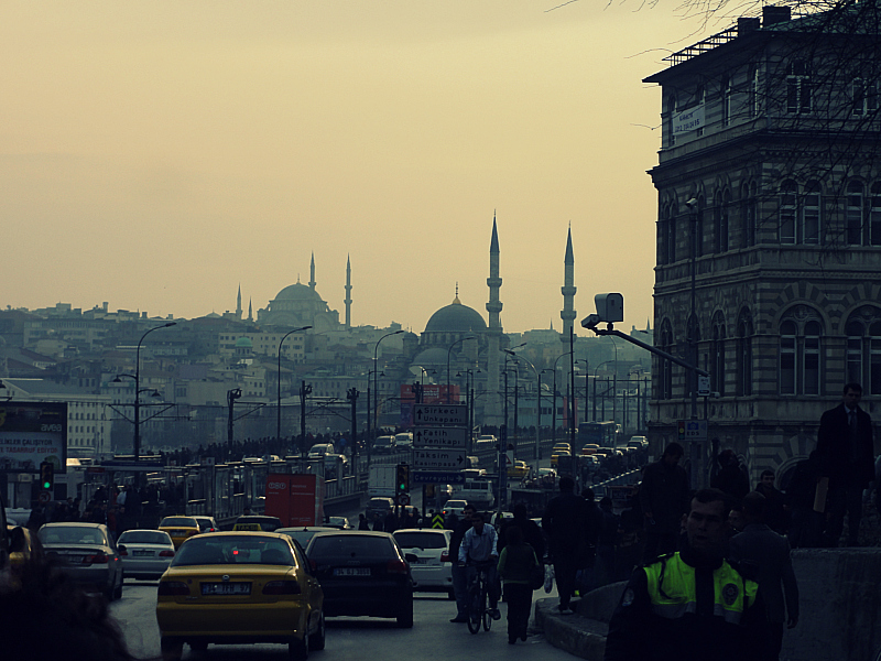 The city of Istanbul!