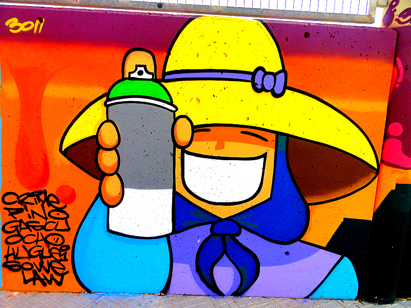 Street Art in Ibiza!