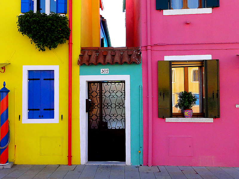 Burano, Italy in photos.