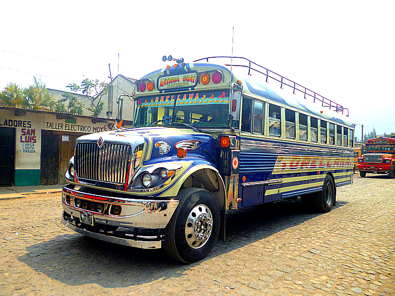 Central America Chicken Bus