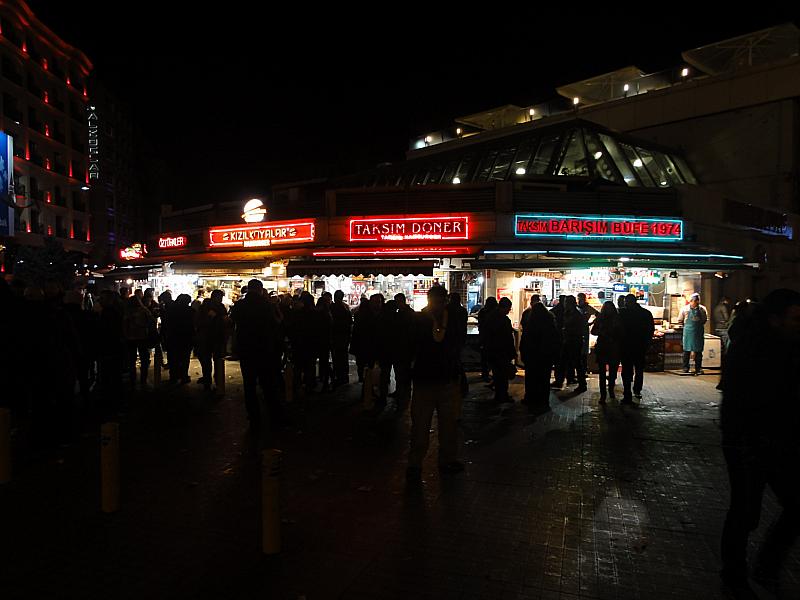 Taksim by Night