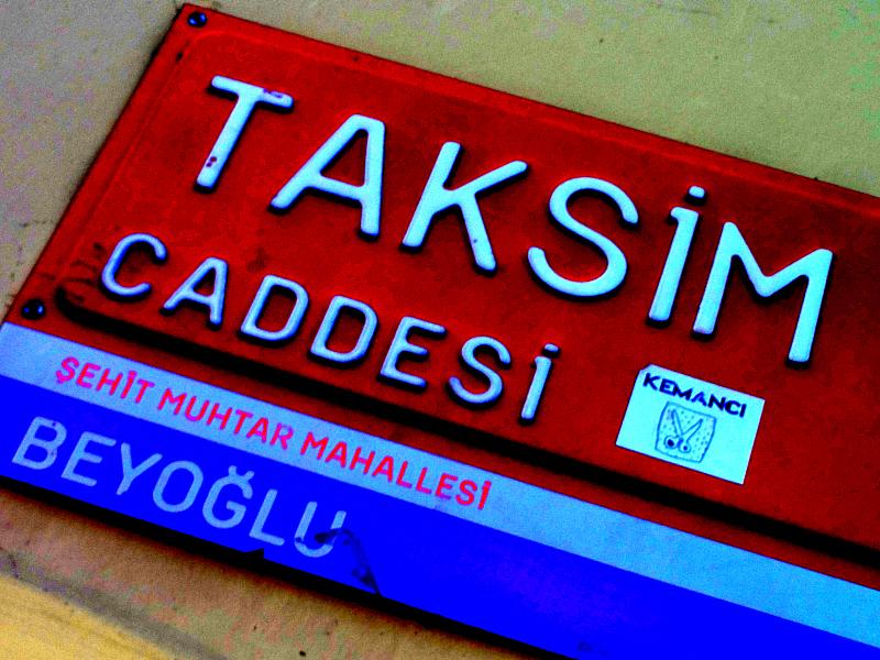 Taksim Caddesi
