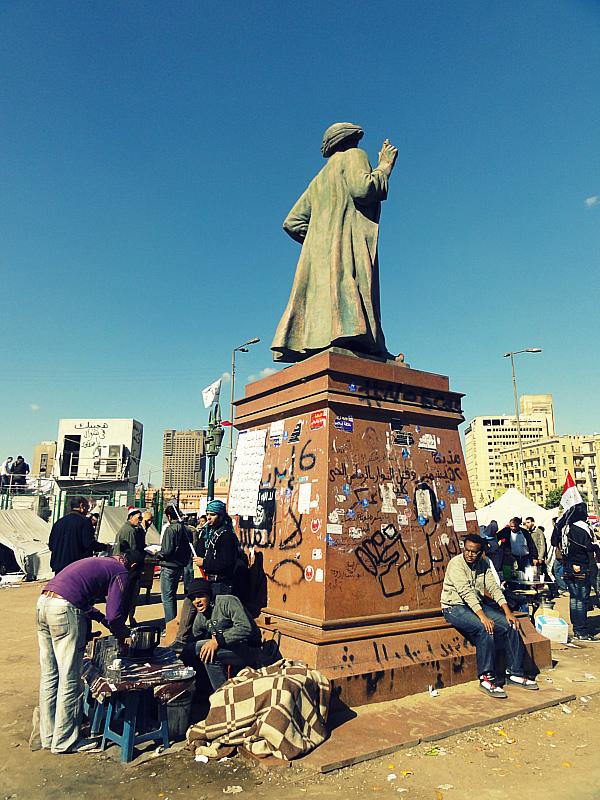 Tahrir Square, Cairo! Egypt Revolution.