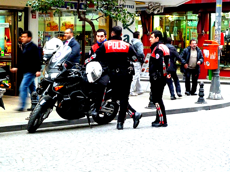 TURKISH COPS