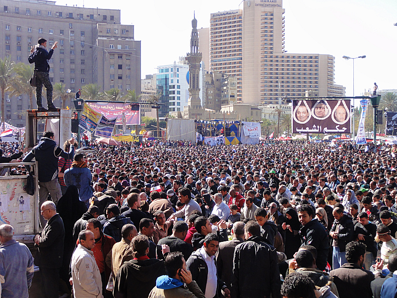 Friday Prayer in Tahrir, Square!