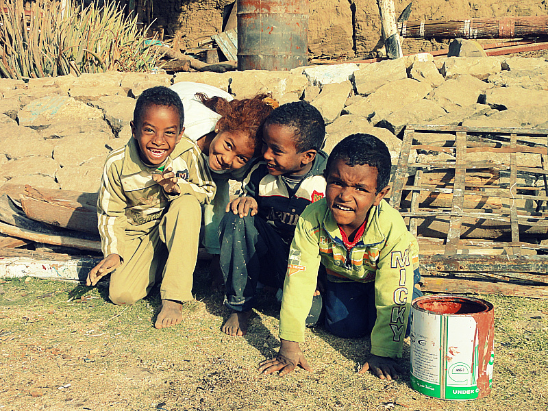Children of Elephantine Island, Egypt!