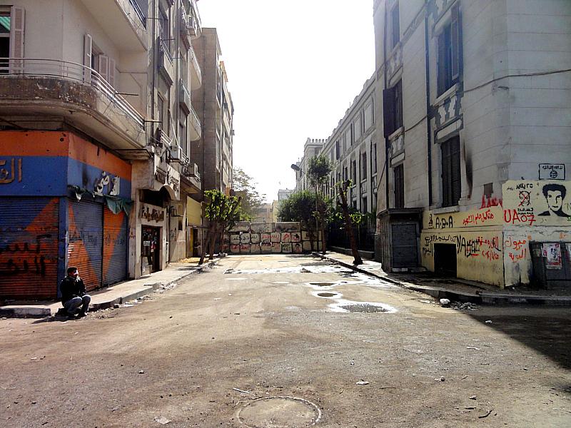 Revolution Art in Cario, Egypt