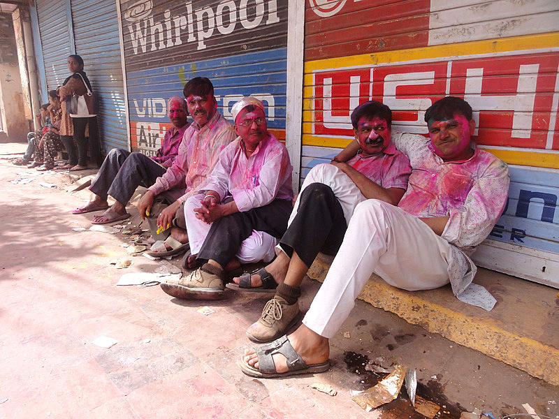 Holi Festival in Mathura!