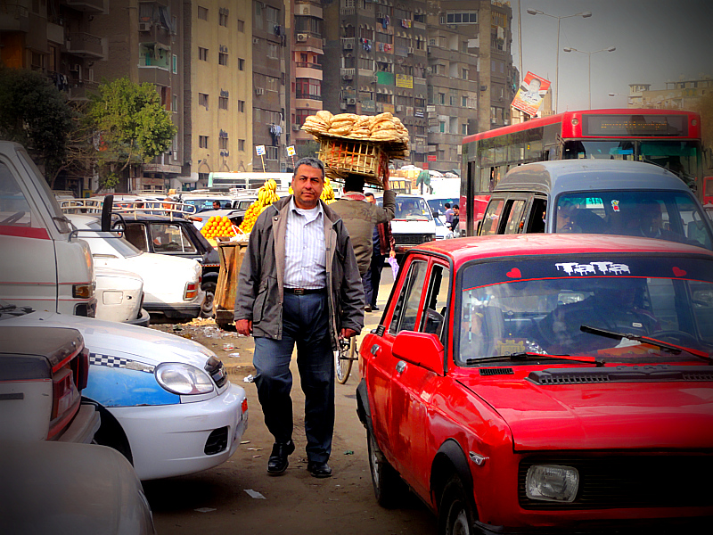 Streets of Cairo.
