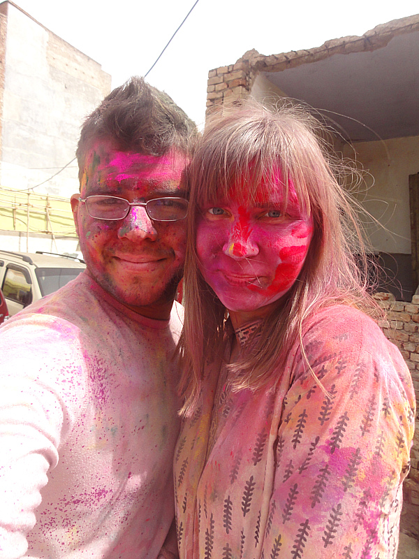 Holi Festival in Mathura