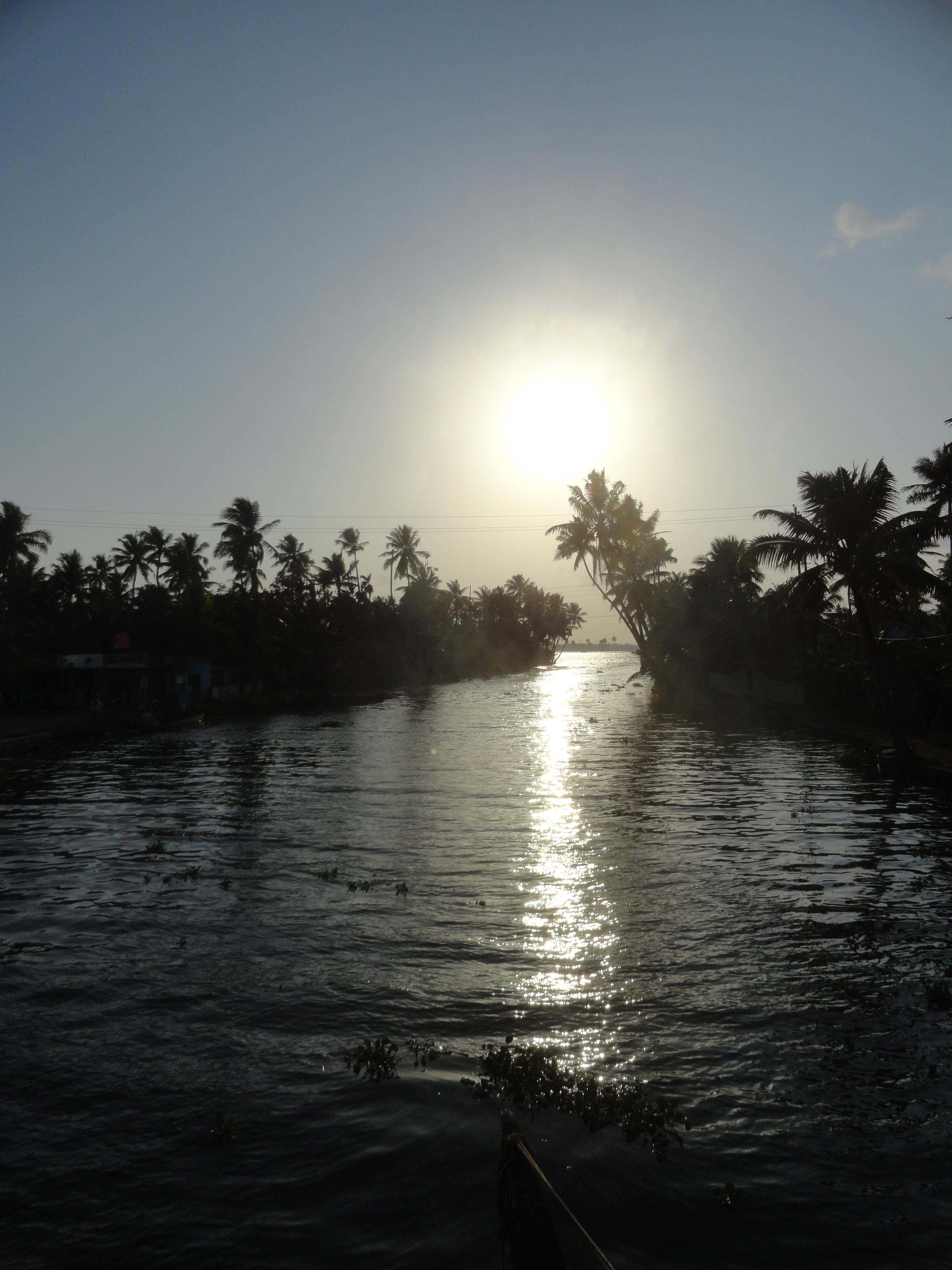 Backwaters of Kerala!