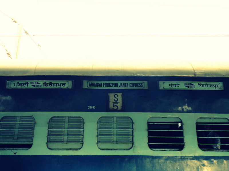Mumabi to New Delhi by train