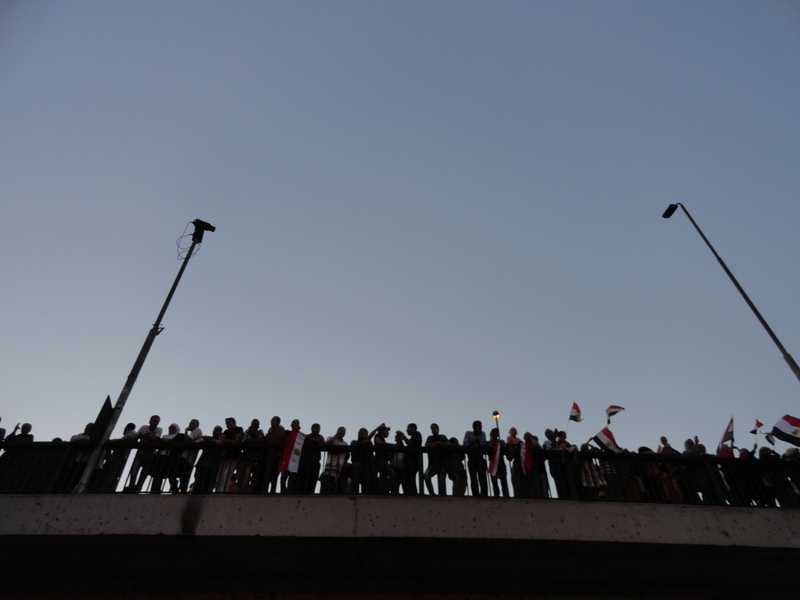 Tahrir Sq. after the results of the presidential elections.