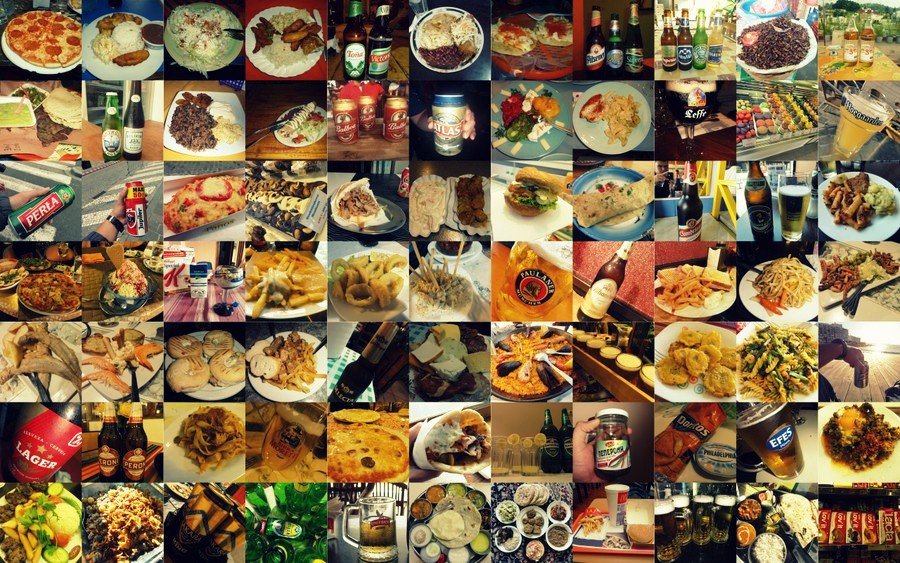 Food & Beer from around the world.