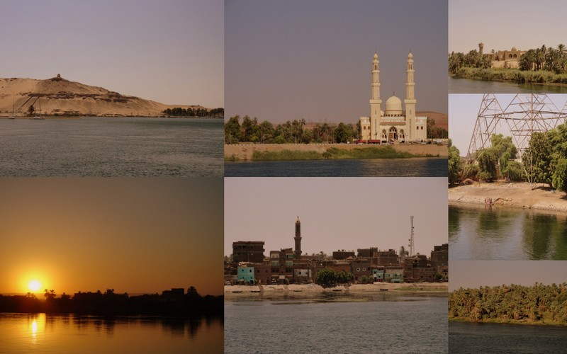 the views of a nile cruise