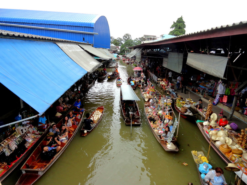 Tourist Trap Floating Market