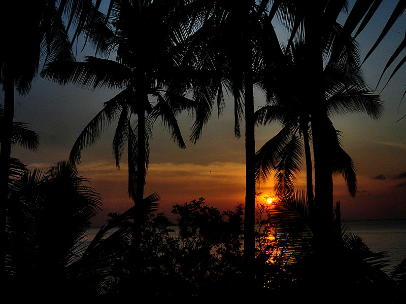 Koh Tao, Sunset