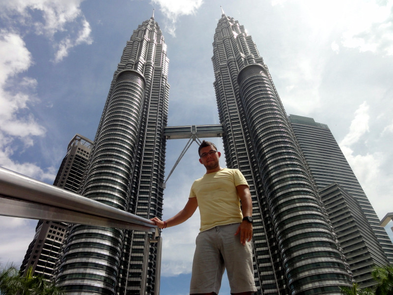 Petronas Twin Towers.