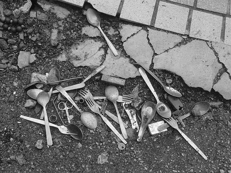 Forks, Spoons & random things on the street.
