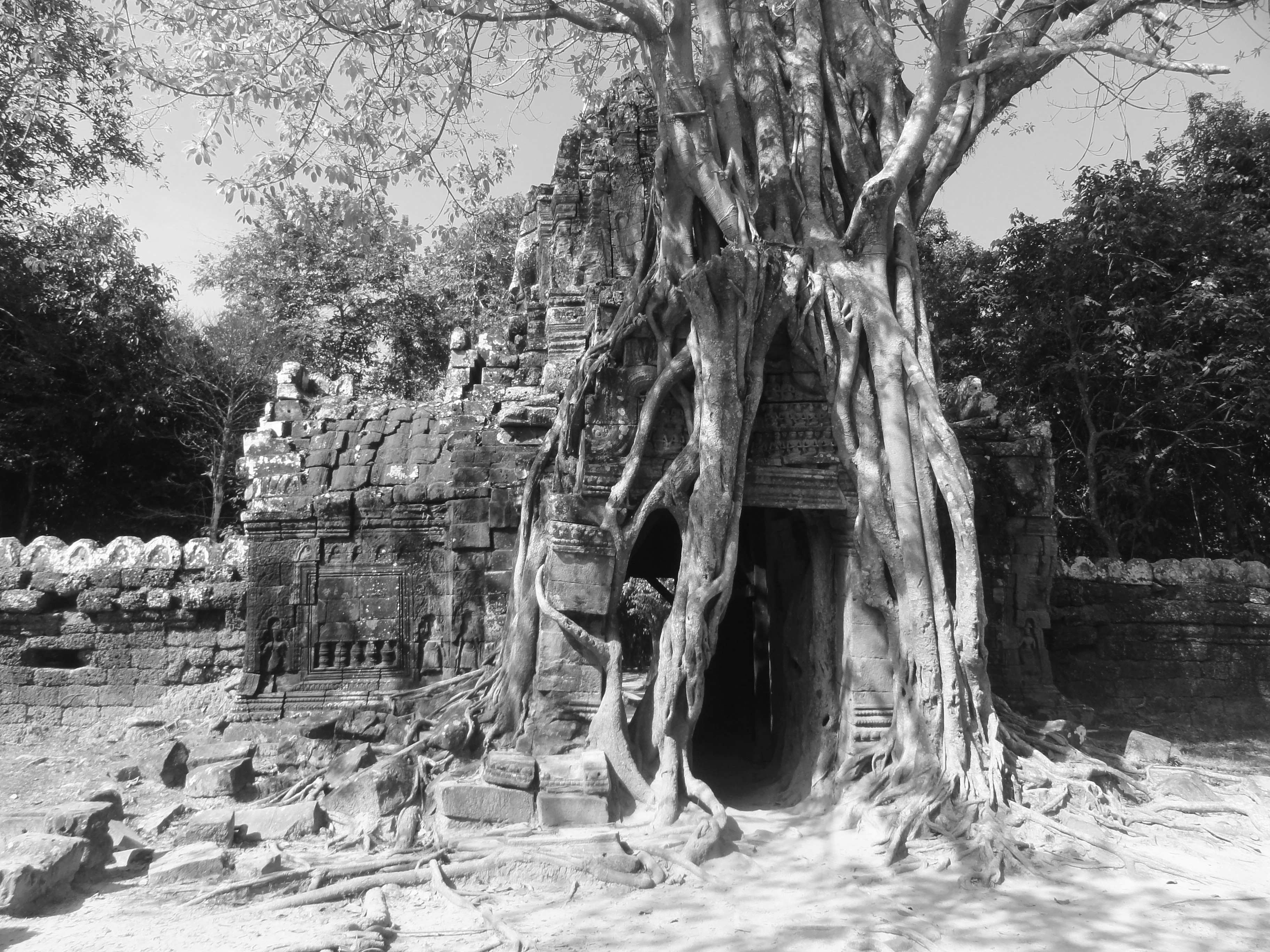 Angkor Wat in Black & White