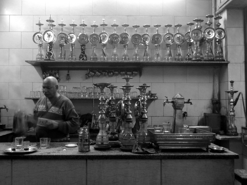 Tea Shop in Cairo.