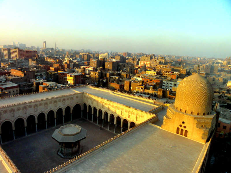 View over Cairo.