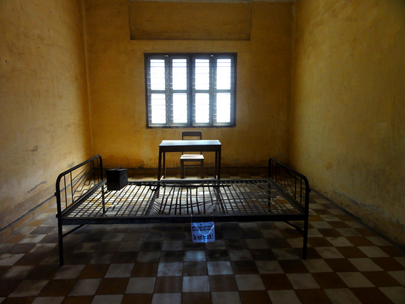 Room from S21 Museum, Cambodia.