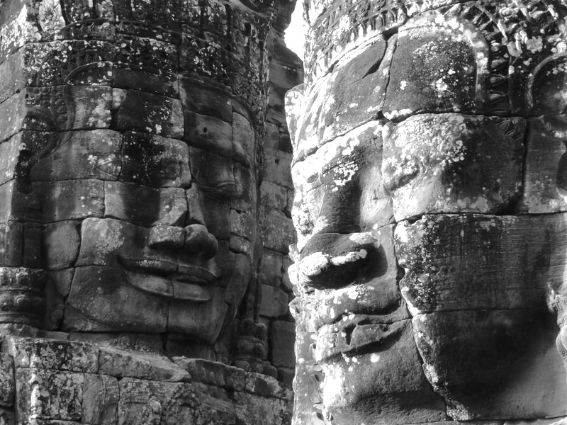 Faces of Angkor Wat