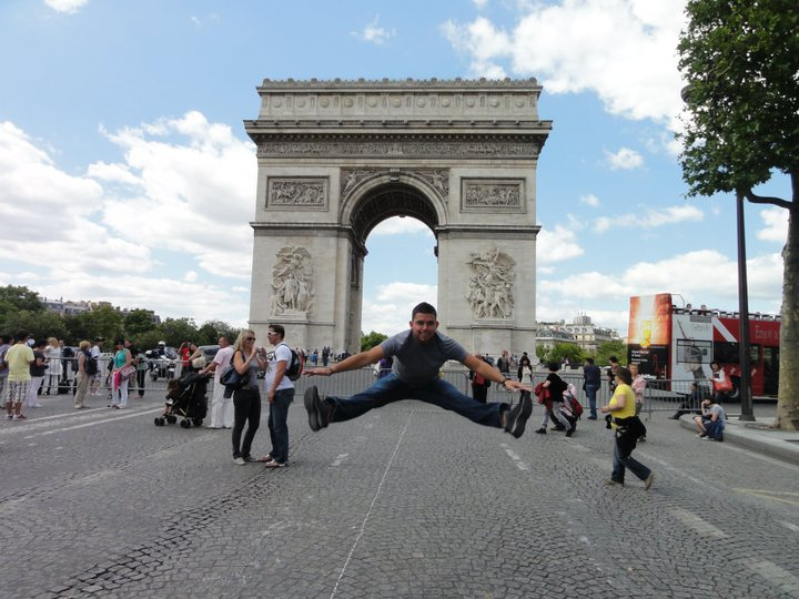 TOE TOUCH AROUND THE WORLD