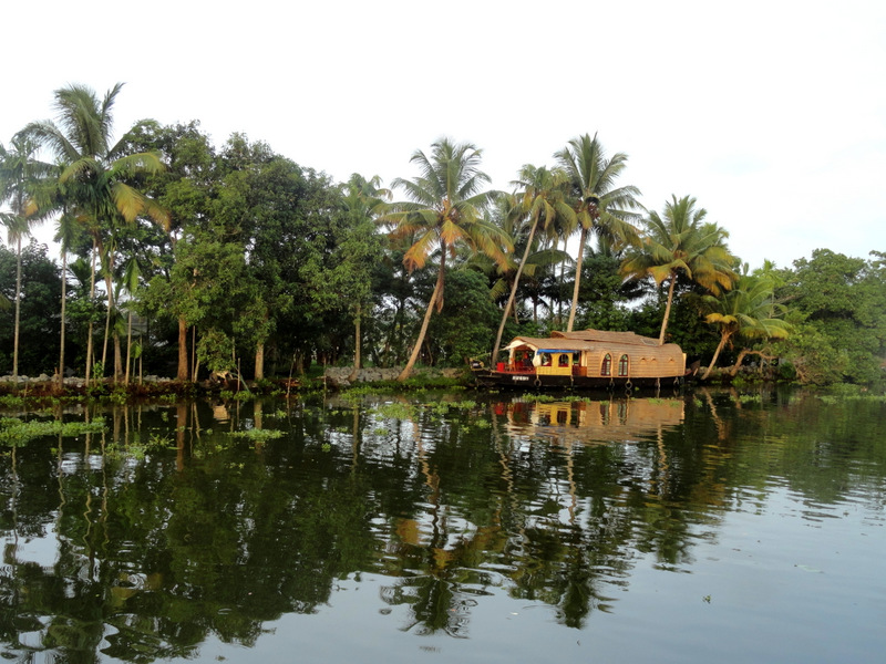 Backwaters of Kerala.