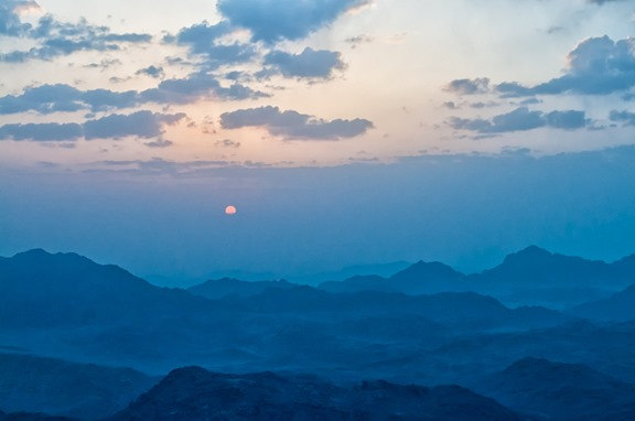 Sunrise @ Mt. Sinai