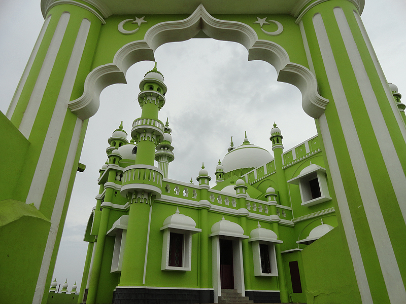 Lime Green Mosque.