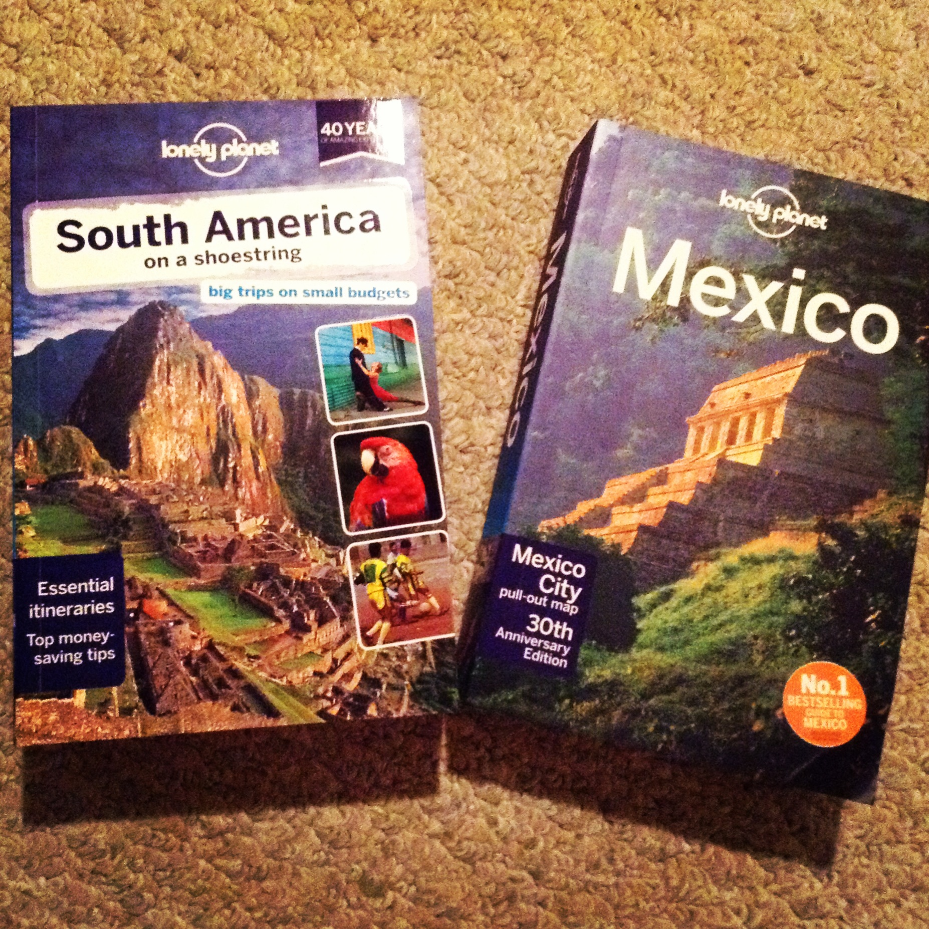 South America and Mexico Lonely Planet