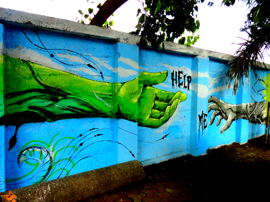 The Wall Project, India