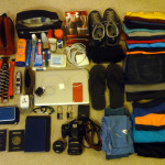 What I am packing for my 2nd trip around the world.